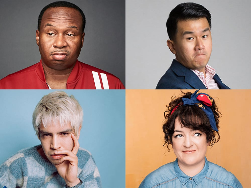 Roy Wood Jr., Ronny Chieng, and Julio Torres