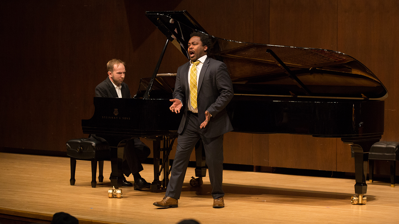 Juilliard's Liederabend series in Paul Recital Hall