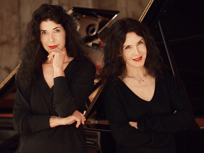 Katia and Marielle Labèque, piano/keyboards